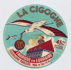 Etiquette Cigogne